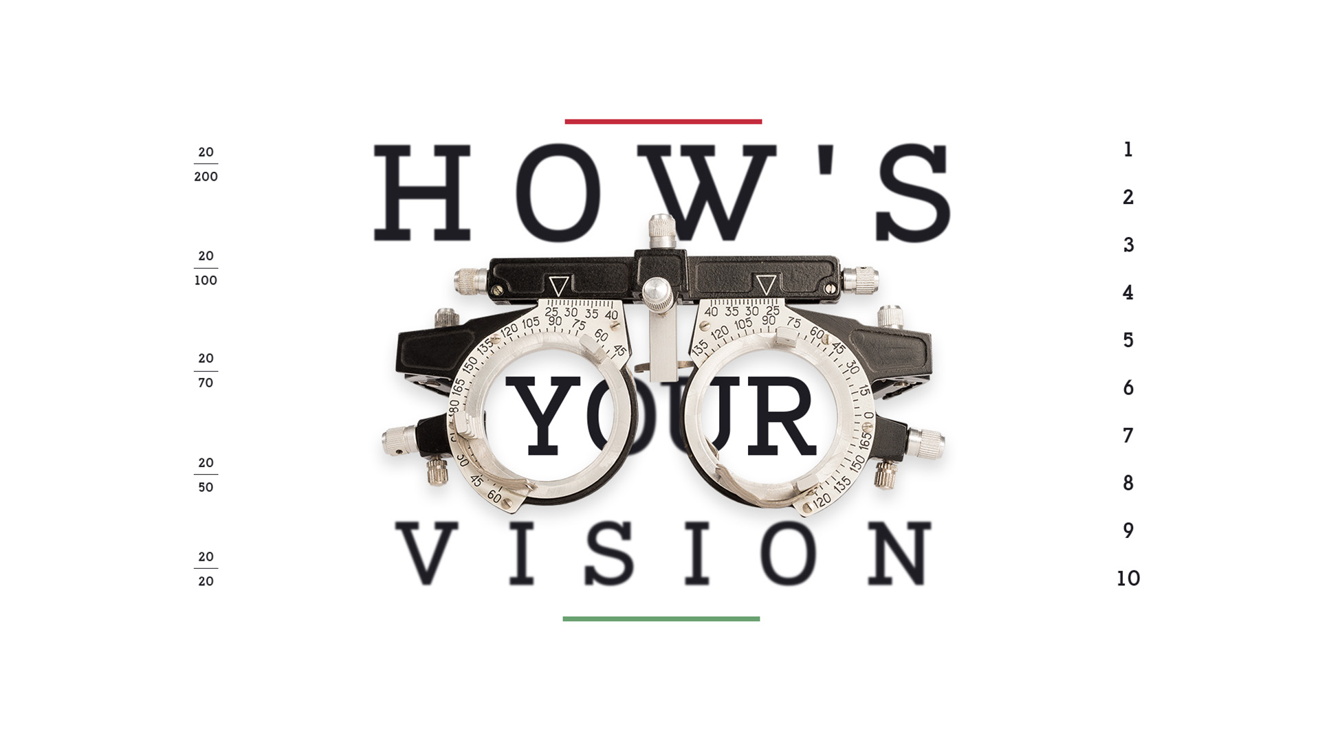 How Is Your Vision