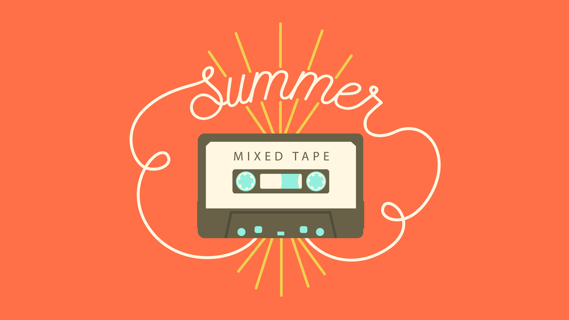 SUMMER MIXED TAPE
