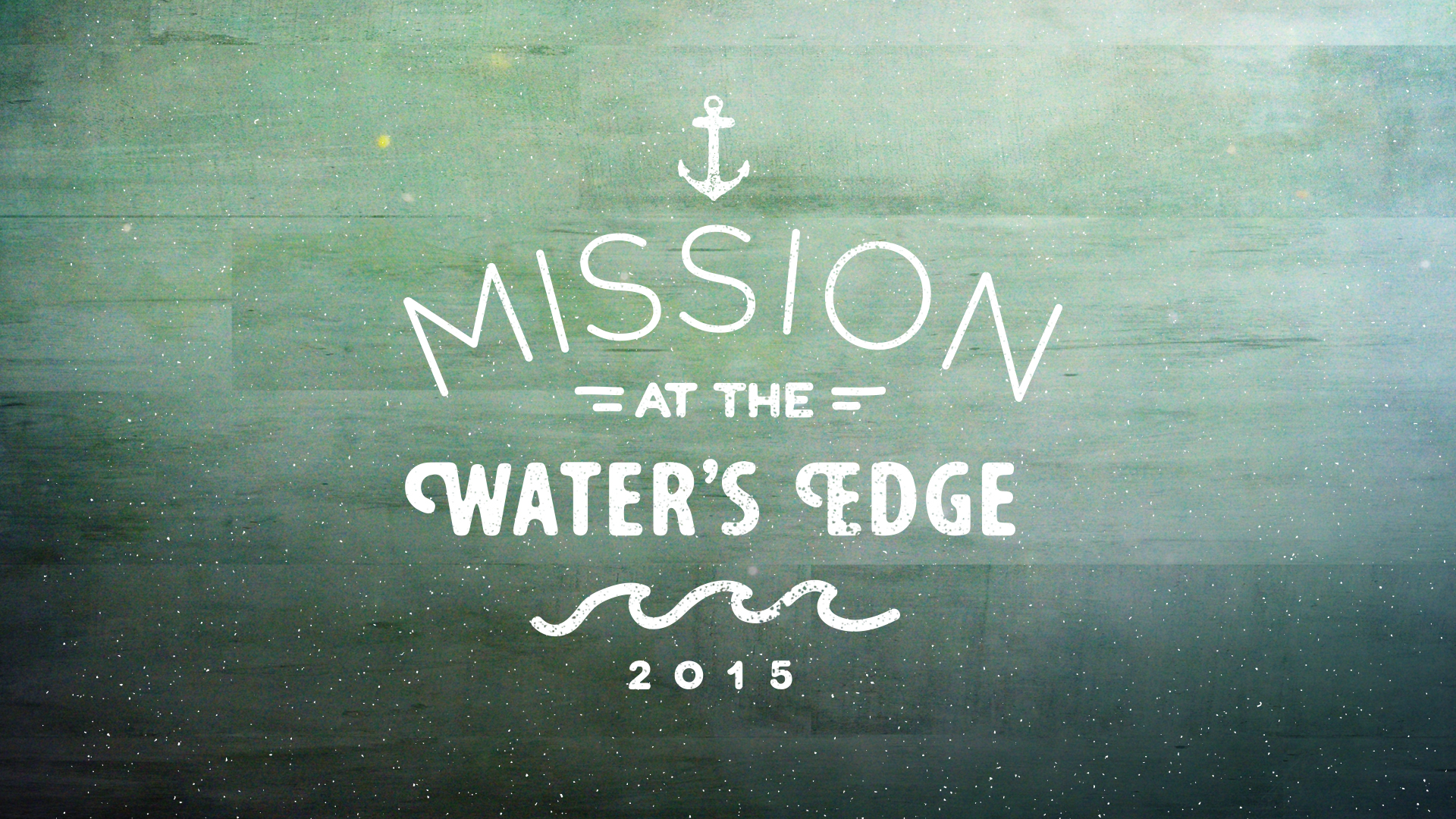Mission at the Water's Edge
